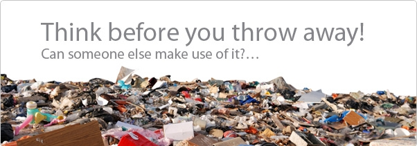 Don't add to landfill!